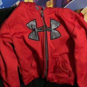 Boys 3t under armour zip up hoodie